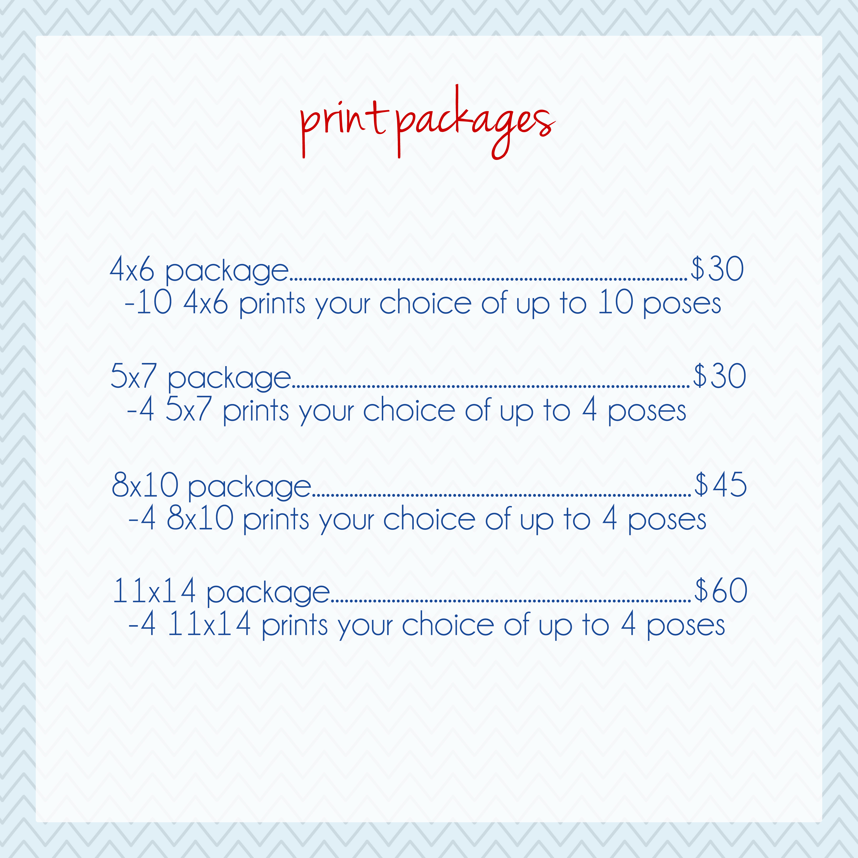 print packages lorena jean photography