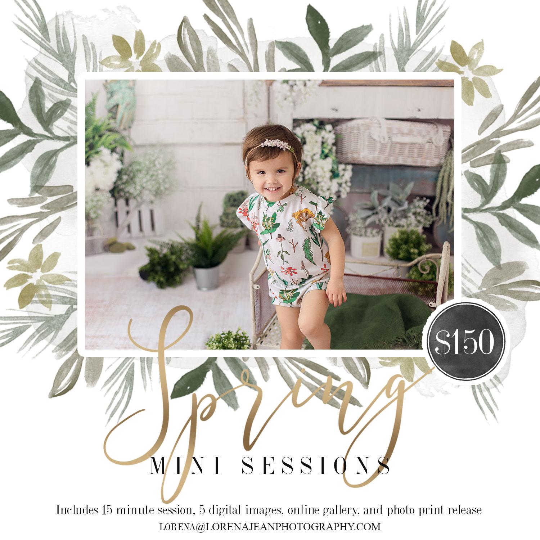 Spring Mini Sessions | Houston Photography - Lorena Jean